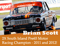 Brian Scott Motor Racing Champion